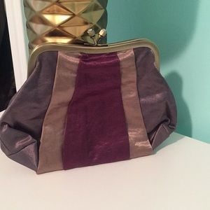 Bath and Body Works satin clutch